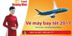Làm sao để mua vé máy bay Tết 2018 hãng Vietnamairlines được giá rẻ?